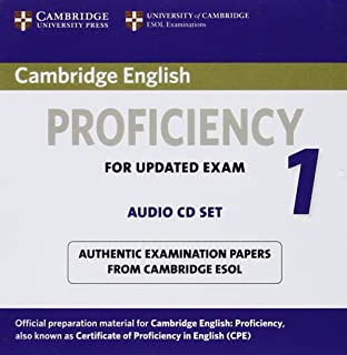 Cambridge English Proficiency 1 for Updated Exam Audio CDs (2): Authentic Examination Papers from Cambridge ESOL (CPE Prac...