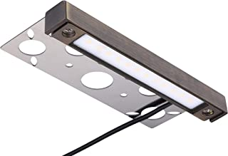 Arrownine Replaceable LED Hardscape Lighting,Brass Material Heat Dissipation 9-15V AC/DC Integrated LED Warm White for Retaining Wall Lights Outdoor Step Lights 4Watt 6.9