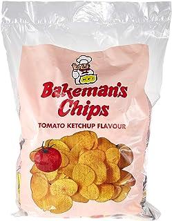 Bakeman's Potato Chips, Tomato Flavour, 25 x 15 gm