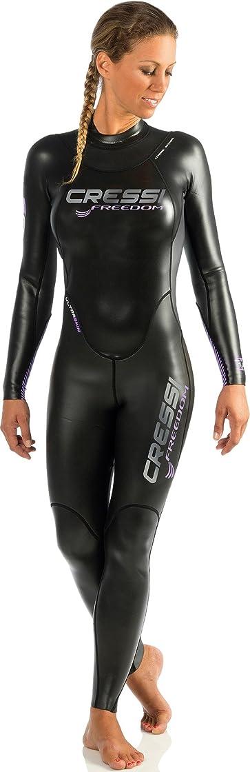 Muta da donna  monopezzo da nuoto, neoprene alta densita` glide skin da 1.5 mm - triton lady DG002301
