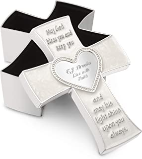 Things Remembered Personalized Childrens Cross Keepsake Box with Engraving Included