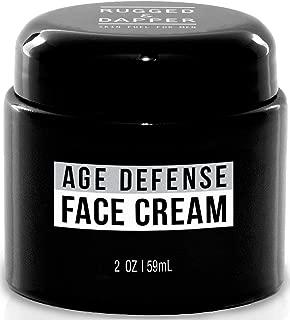 RUGGED & DAPPER Face Cream for Men, Anti-Aging Day and Night Cream, 2 Oz