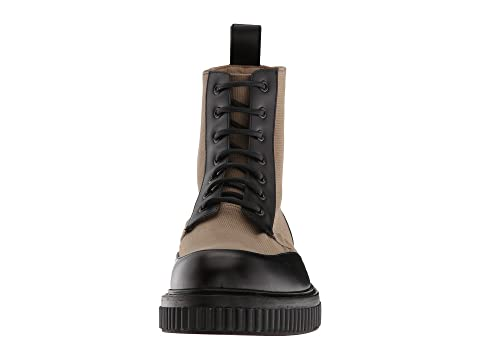 Paul Andrew Aiden Canvas & Leather Boot Mortar/Black Buy Cheap Extremely Top Quality Cheap Pay With Paypal Sale SudikkJ3O