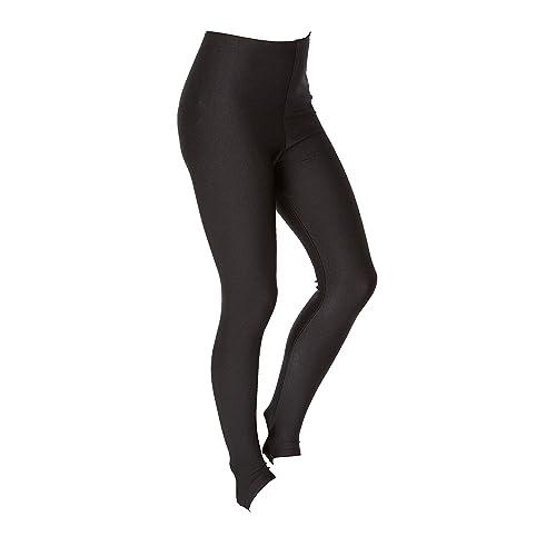 71ede19841e19 Hi-Co Girls Children Kids Stirrup Leggings Dance Gymnastics Shiny Nylon  Lycra