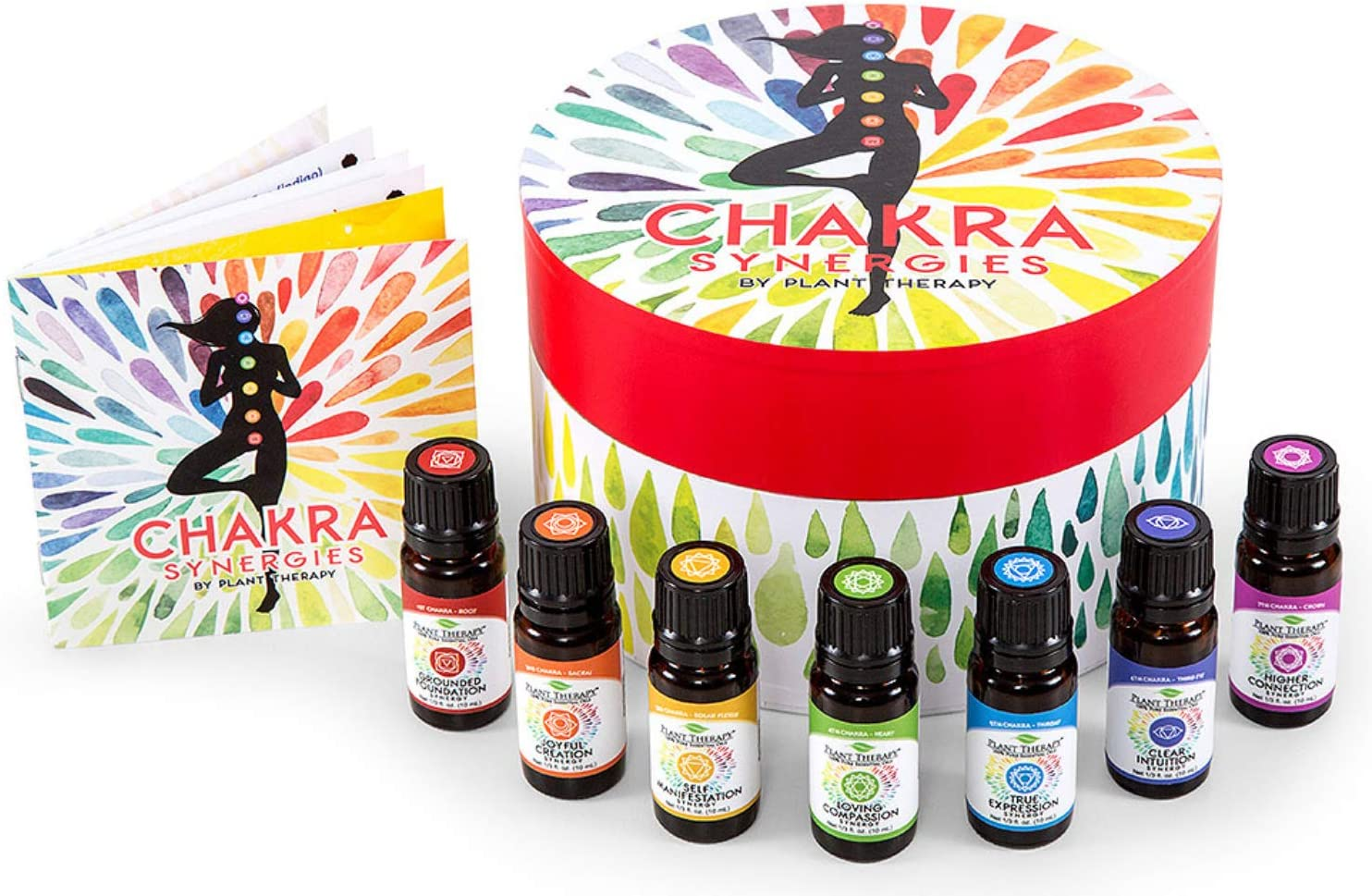 Plant Therapy Chakra Synergy Blends Complete Undiluted Max 78% half OFF 100% Set
