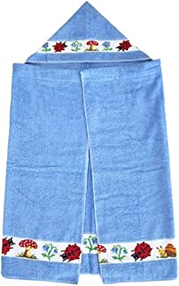フェイラー バスポンチョ パウリ バスタオルポンチョ PAULI Chenille Bath poncho (ブルー(azur))
