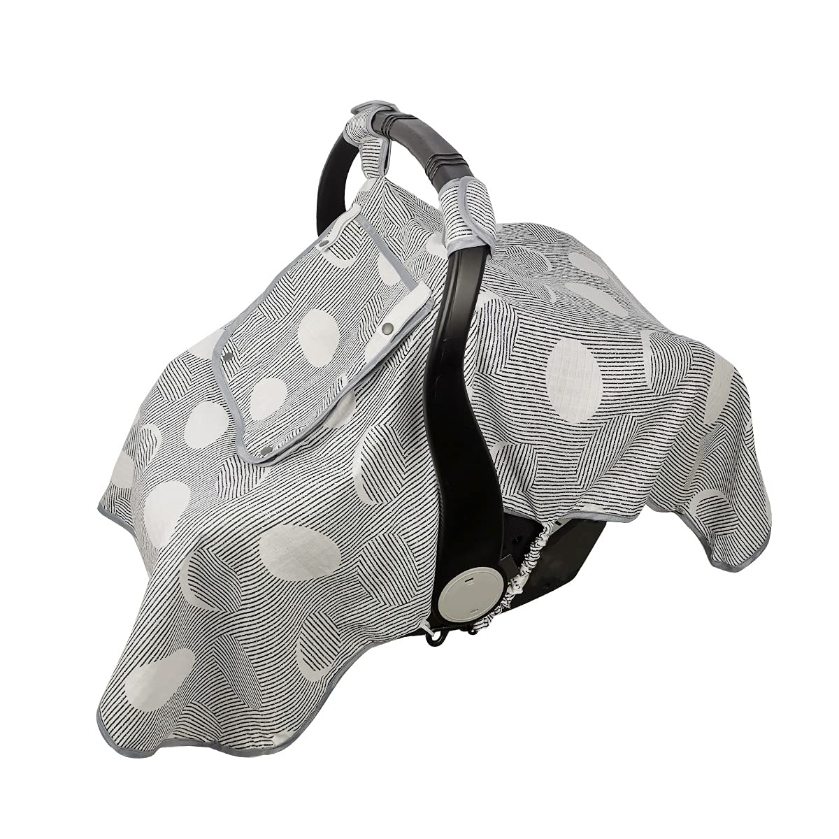 ICOPUCA Car seat Fixed price for sale Covers for Babies Girls Max 89% OFF Muslin b Cover carseat