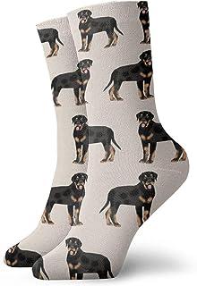 Nother, Rottweiler Dog - Calcetines cortos unisex cómodos y ligeros para fitness