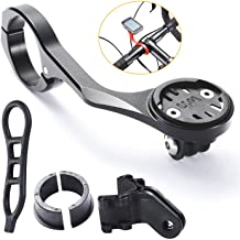 Caija-H Bike Out Front Combo Computer Mount Aluminium Alloy Bicycle Handlebar Mount for Wahoo Elemnt,Elemnt Mini,Elemnt Bo...