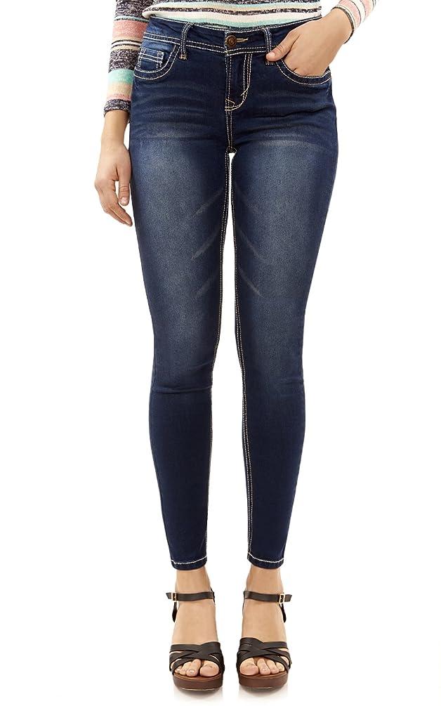 WallFlower Women's Juniors Irresistible Denim Jegging Jeans (28-30-32