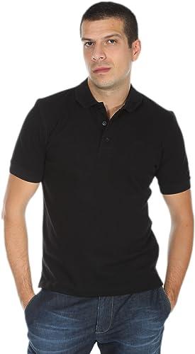 BOSS Hugo hommes Poloshirts Kurzarm noir 50182831
