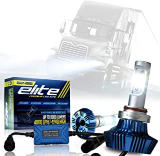 LED Conversion Kit Bulbs compatible with Mack Vision CX 600 CX613 1998-2013 Truck Headlight Lamp Low Beam