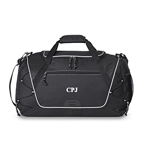 f9181dc69bf Personalized Sports Duffel Bag – Monogrammed Waterproof Gym, Fitness,  Workout, Travel, Camping