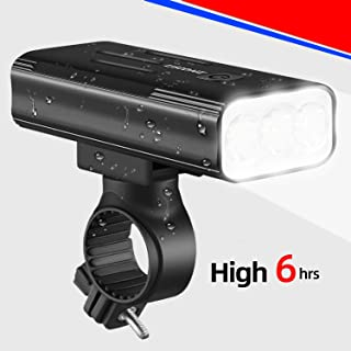 Bicycle Headlight LED, 2020 Rechargeable Bike Light Front...