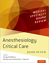 Anesthesiology Critical Care Board Review (Medical Specialty Board Review)