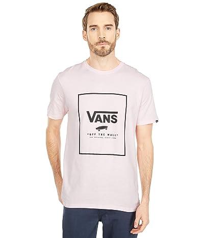 Vans Print Box Tee (Vans Cool Pink/Black) Men