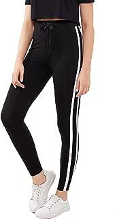 Women's Drawstring Waist Long Workout Yoga Legging Active Pant