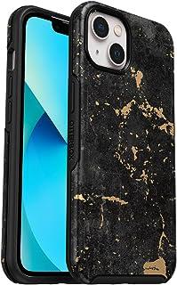 OtterBox na Apple iPhone 13, Eleganckie, odporne na upadek, ochronne etui, Symmetry Series, Enigma - Czarne/Złote