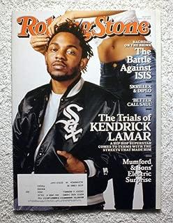 Kendrick Lamar - Hip-Hop Superstar - Rolling Stone Magazine - #1231 - March 26, 2015