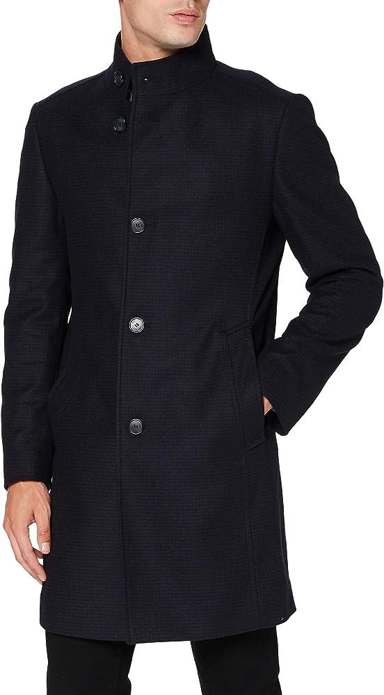 Hugo boss,cappotto per uomo in lana 80 % 50437273
