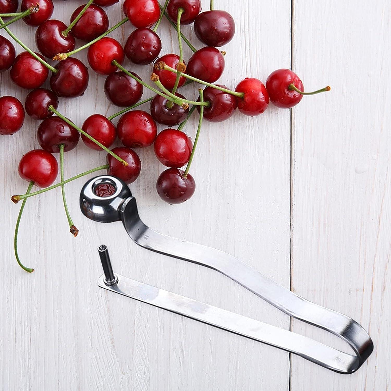 MAMaiuh Cherry Pitting Tool, Kitchen Portable Cherry Pitter Tool