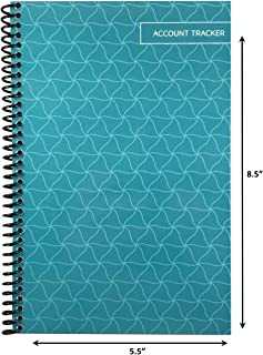 The Superior Check and Debit Card Register - Teal 5.5