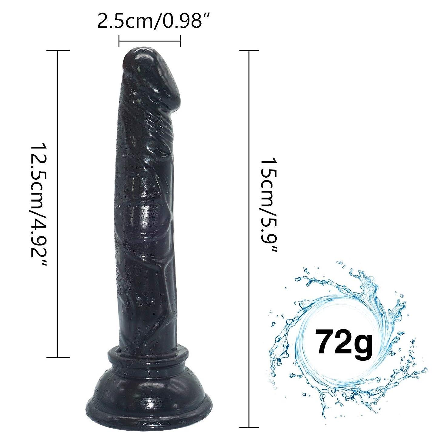 仕方恩恵名声LFLZCP 5.9インチの女性の二重喜びStrápǒnの男性の肉棒ののための巨大なサイズの棒 LFLZCP