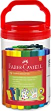Faber-Castell Jumbo Connector Pens Bucket of 28, (66-2000-28) (66-2000-20)