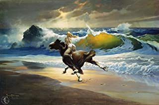 Wild Ride by Frank Frazetta Art Print Cubicle Locker Mini Art Poster 8x12