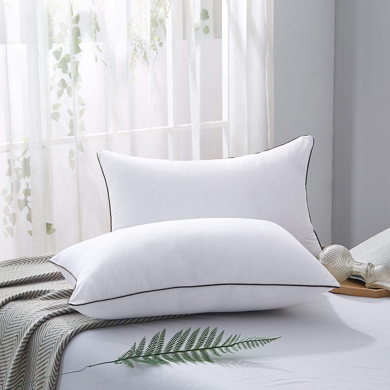 JOLLYVOGUE 2 Pack Bed Pillows