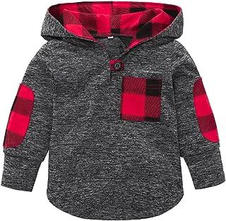 WensLTD Long Sleeve Boys Girls Hoodie Tops Sweatshirts