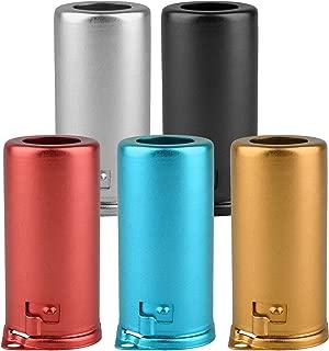 Muti-color Vacuum Tube Shield Aluminum Alloy 9G-55 Shield Caps For 9 Pin 12AX7 12AU7 12AT7 Tubes Pack of 5