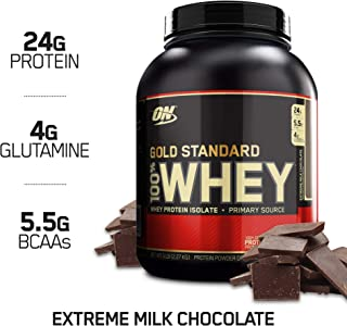 Optimum Nutrition Gold Standard 100% Whey, Suplemento para Deportistas (Extremo Chocolate con Leche