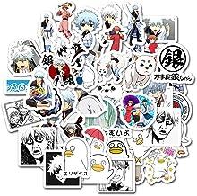 ALTcompluser 50 stk Anime Gintama Stickers Wasserdicht Vinyl