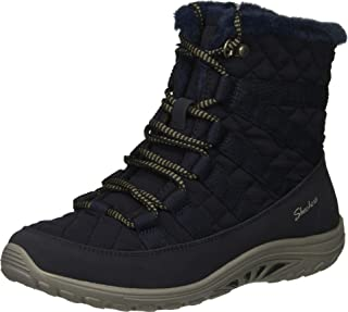 Skechers REGGAE FEST - Moro Rock - Short Quilted Lace Up Bootie womens Ankle Boot