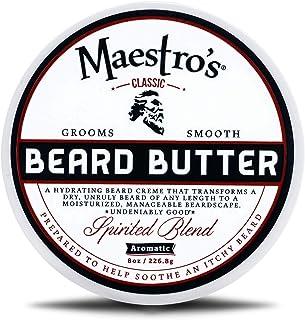 Maestro's Classic Spirited Beard Butter, 8 Ounce