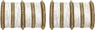Ratna creation Traditional Bollywood Indian Antique Gold Kada Wedding Wear Bangles Set Women Punjabi 78 Bangle Bracelet Set