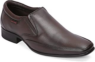 Red Chief Black Leather Men's Formal Shoe