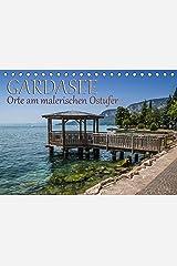 GARDASEE Orte am malerischen Ostufer (Tischkalender 2021 DIN A5 quer) Kalender