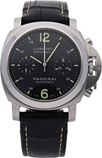Panerai Luminor Mechanical (Automatic) Black Dial Mens Watch PAM 310 (Certified Pre-Owned)