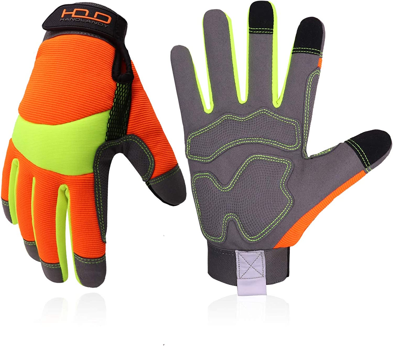 Popular popular Utility Work Gloves for Men Hi Viz Women At the price Safety and