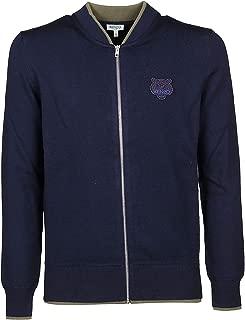 Kenzo Luxury Fashion Mens F965CA1023AB76 Blue Sweater | Fall Winter 19