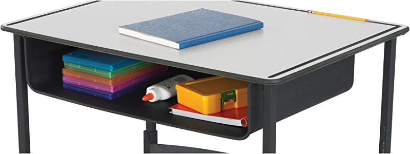 Safco Products 1212BL Book Box For AlphaBetter Desk Black