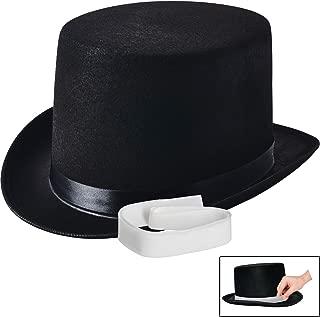 Black Felt Top Hat, Costume Dress Up Party Hat