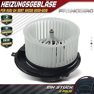 Qiilu Resistenza del motore del ventilatore dellautomobile resistenza di controllo del ventilatore del ventilatore del riscaldatore del motore 6q0959263A per A1 A2 Fabia Roomster
