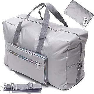 silver travel bag