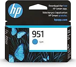 Original HP 951 Cyan Ink Cartridge | Works with HP OfficeJet 8600, HP OfficeJet Pro 251dw, 276dw, 8100, 8610, 8620, 8630 S...