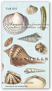 Michel Design Works 15 Count Hostess Napkins, Seashells