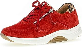 Gabor Damen Sneaker, Frauen Low-Top Sneaker,Optifit- Wechselfußbett