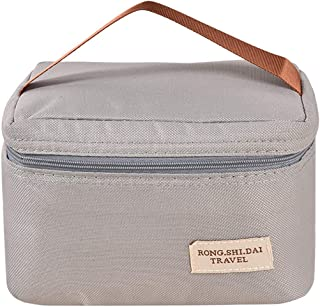 COAFIT Kids Lunch Handbag Insulated Portable Oxford Cloth Lunch Tote Bag for Ourdoor